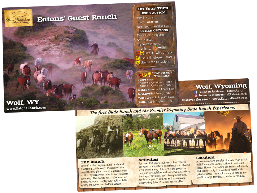 Fantasy Ranch Board Game | The Trail Ride
